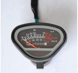 QM125 2A MOTORCYCLE SPEEDOMETER